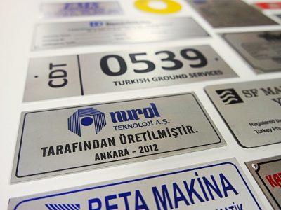 metal etiket imalatı ankara